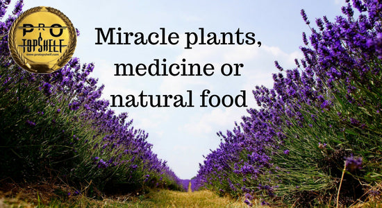 Miracle plants, medicine or natural food