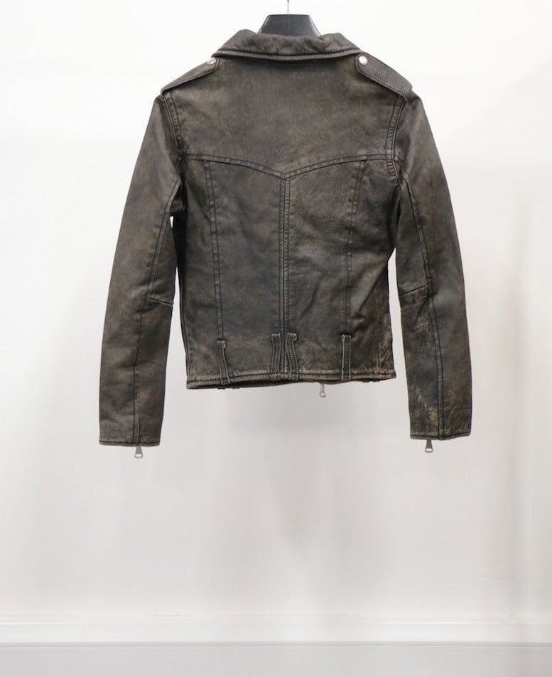 WOMEN'S LEATHER JACKET (SIZE 38)