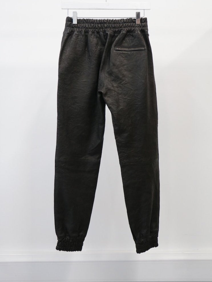 WOMEN'S LEATHER PANT (SIZE S)