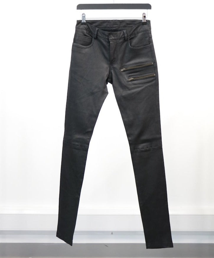 WOMEN'S LEATHER PANT (SIZE 26)