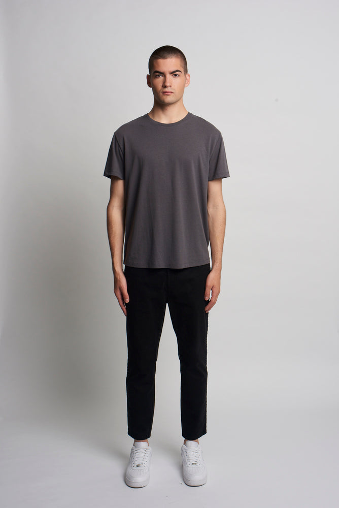 ANTHRACITE RECYCLED SLOUCH TEE