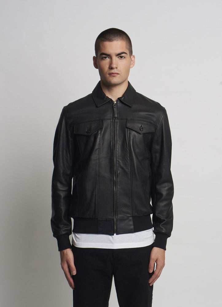 GEORGE LEATHER JACKET