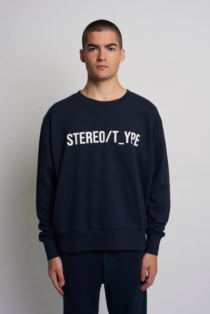 GRAPHIC SWEATSHIRT - STEREOTYPE