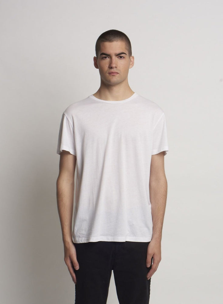 SLOUCH TEE WHITE