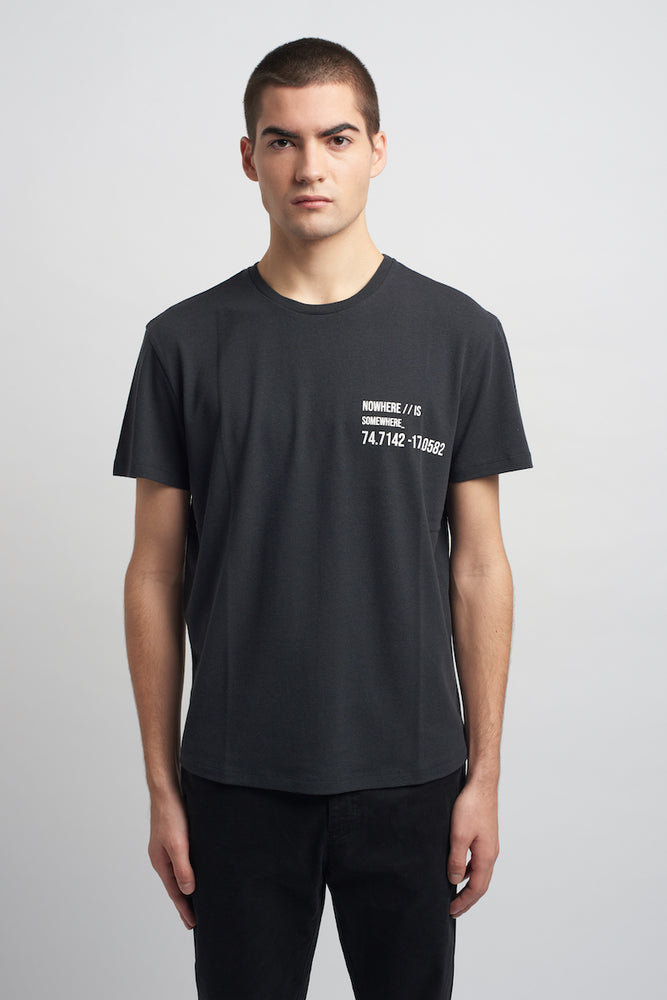 GRAPHIC TEE SHIRT - NOWHERE