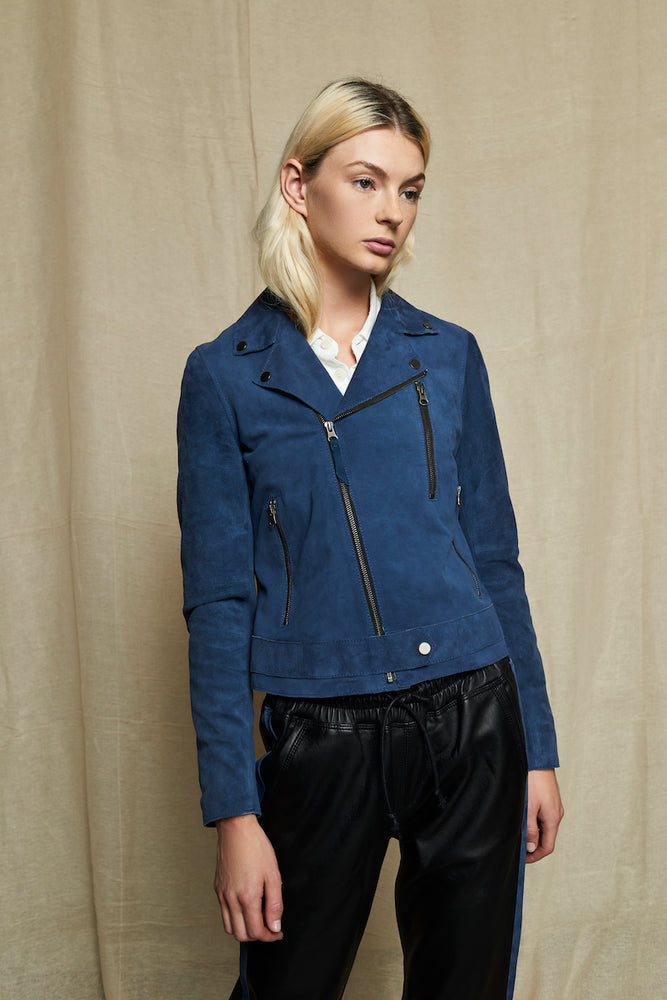 WOMEN'S SUEDE JACKET (SZIE S)
