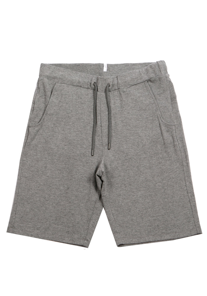 GREY LUX RIB SHORT