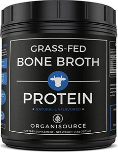 Grass-Fed Bone Broth Protein Powder
