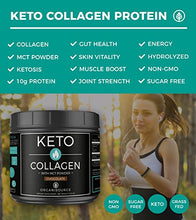Keto Collagen Protein with MCT Powder (Chocolate)