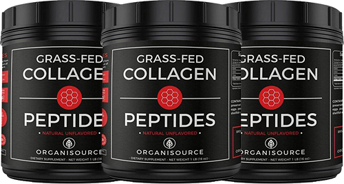 Grass-Fed Pure Collagen Peptides Powder (Pack of 3)