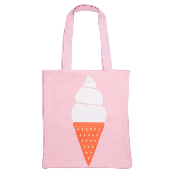SUNNYLIFE - SAC DE PLAGE EN TOILE SOUPLE ICE-CREAM