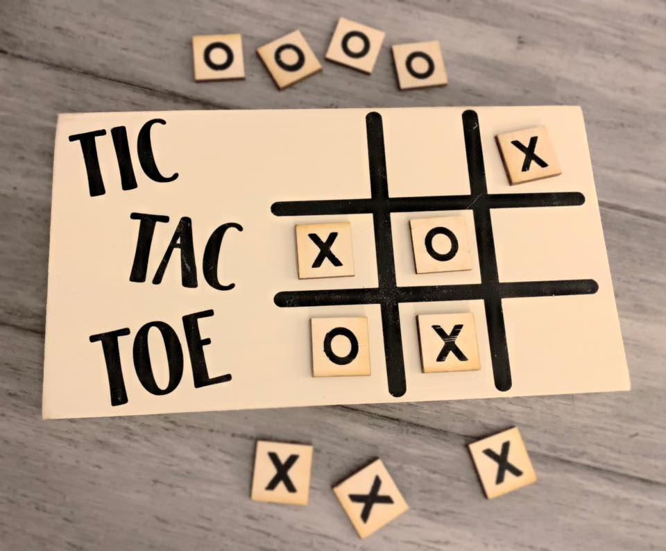 Take home kit: Tic Tac Toe