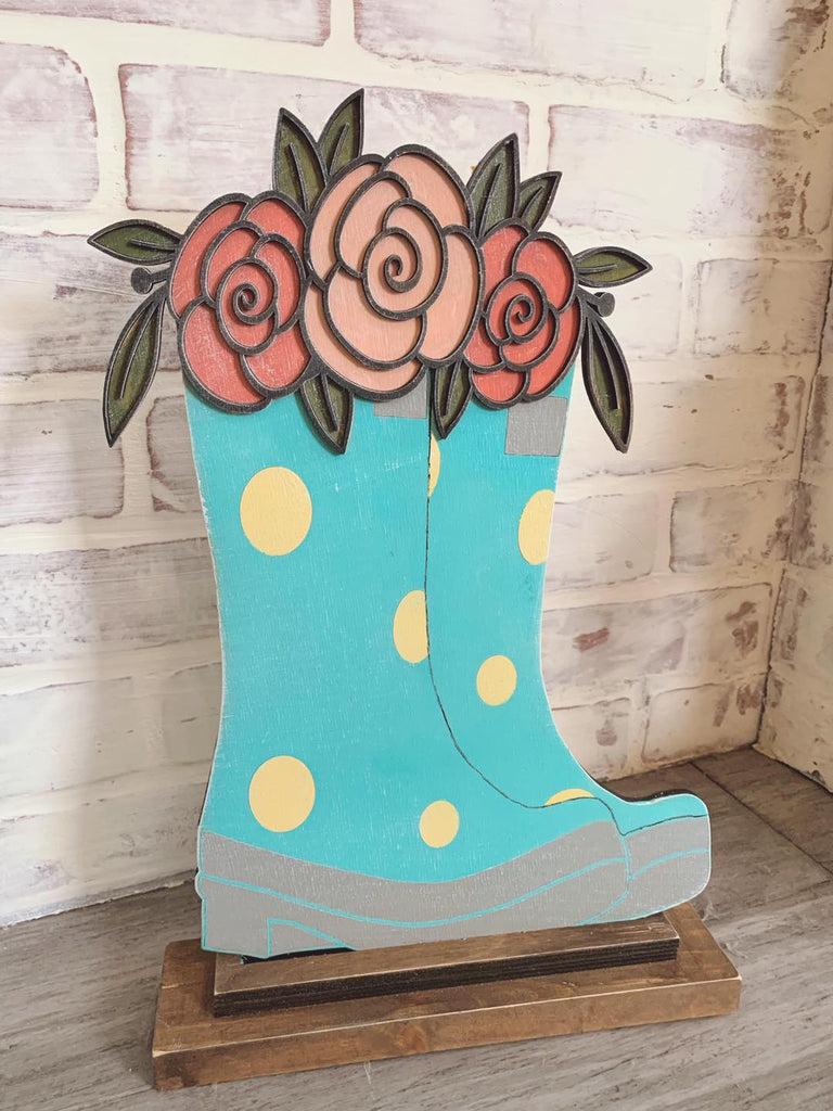 Thursday March 18th Spring tulip 3D truck OR rain boots 6:30-9:00pm