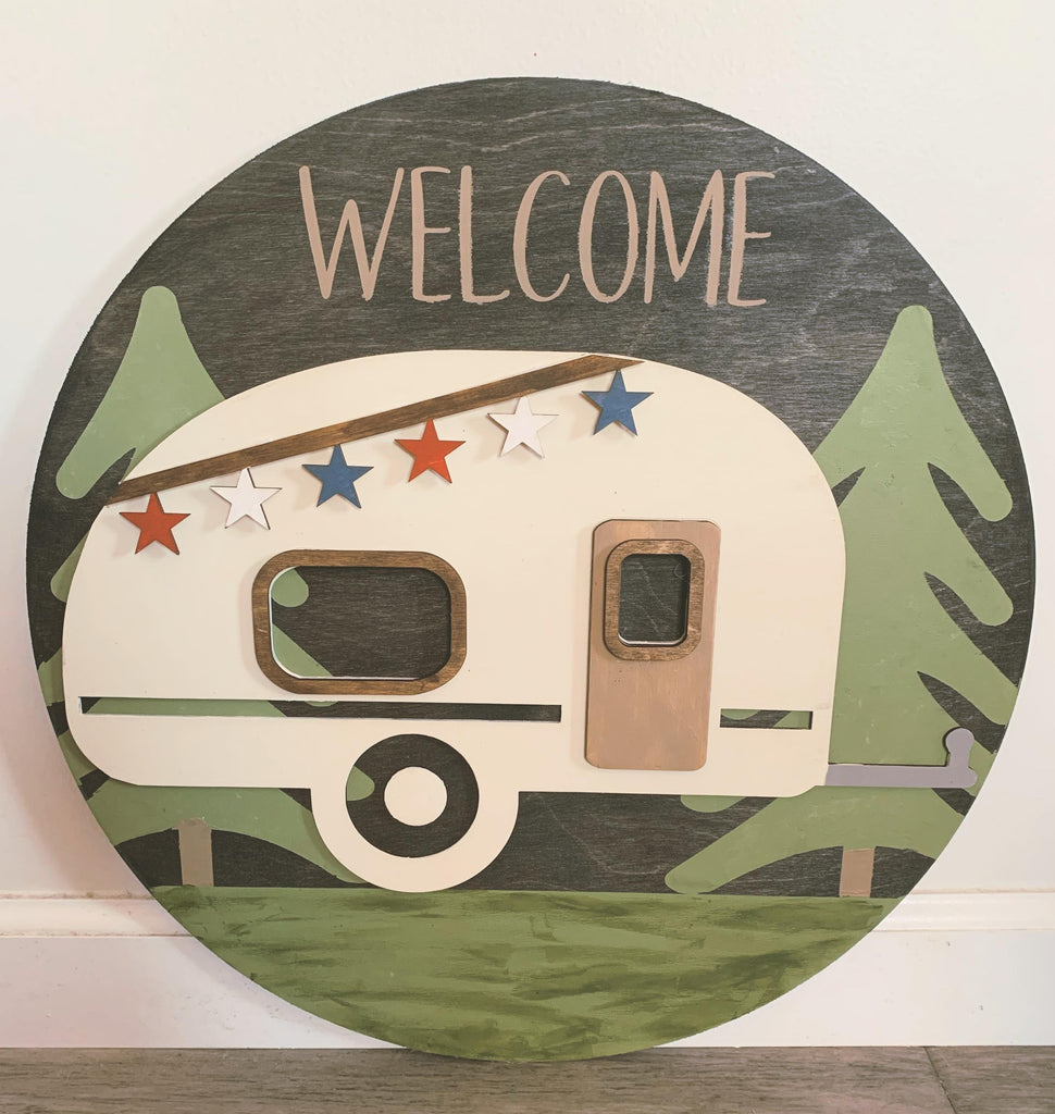Interchangeable Camper TAKE HOME KIT (PAINT NOT INCLUDED)
