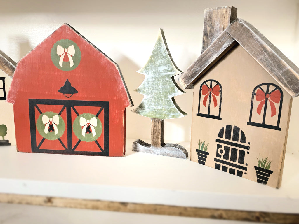 December 3rd 6:30-9:30 Christmas Village workshop