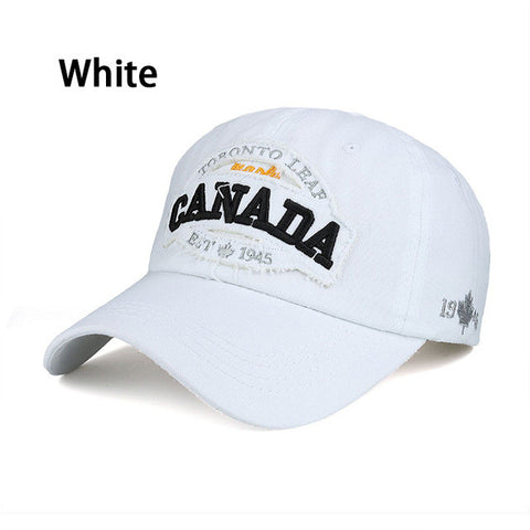 2016 New arrival high quality snapback cap cotton baseball cap CANADA maple embroidery hat for men women unisex cap B350