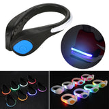 1 Pair LED Shoes Clip Lights Reflective Safety Warning Night Running Gear for Runners Joggers Bikers Walkers Popular