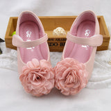 Spring new kids shoes girls shoes beautiful flower princess single shoes kids fashion comfortable leather children shoes girls