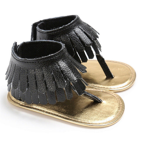 ROMIRUS 2017 Summer Sandals for Girls Newborn Infant Baby Kids Crib Fringe Moccasins Shoes Tassel Sandals