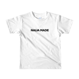 Naija Made Regular - Child tee - Black Ink