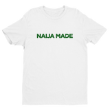 Naija Made Regular Tee - Green Ink