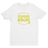 Powered by Pounded Yam and Egusi Unisex Tee