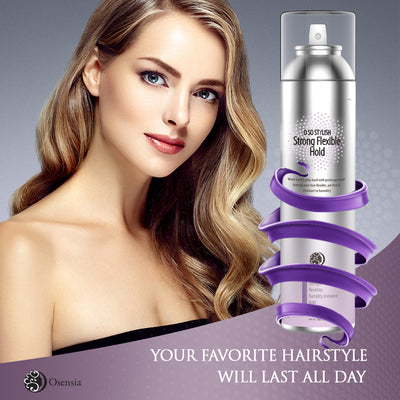 O So Stylish Strong Flexible Hold Spray