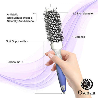 Round Brush for Blow Drying Small