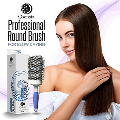 Round Brush Blow Dry