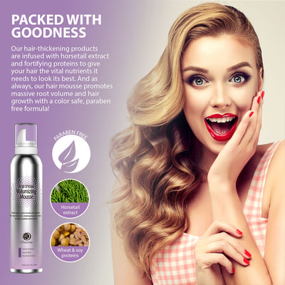 Osensia Stylish Volumizing Mousse