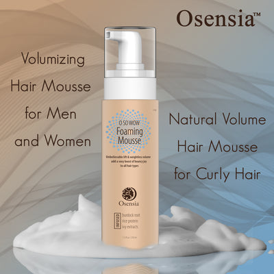 Natural Mousse Hair Styling Foam