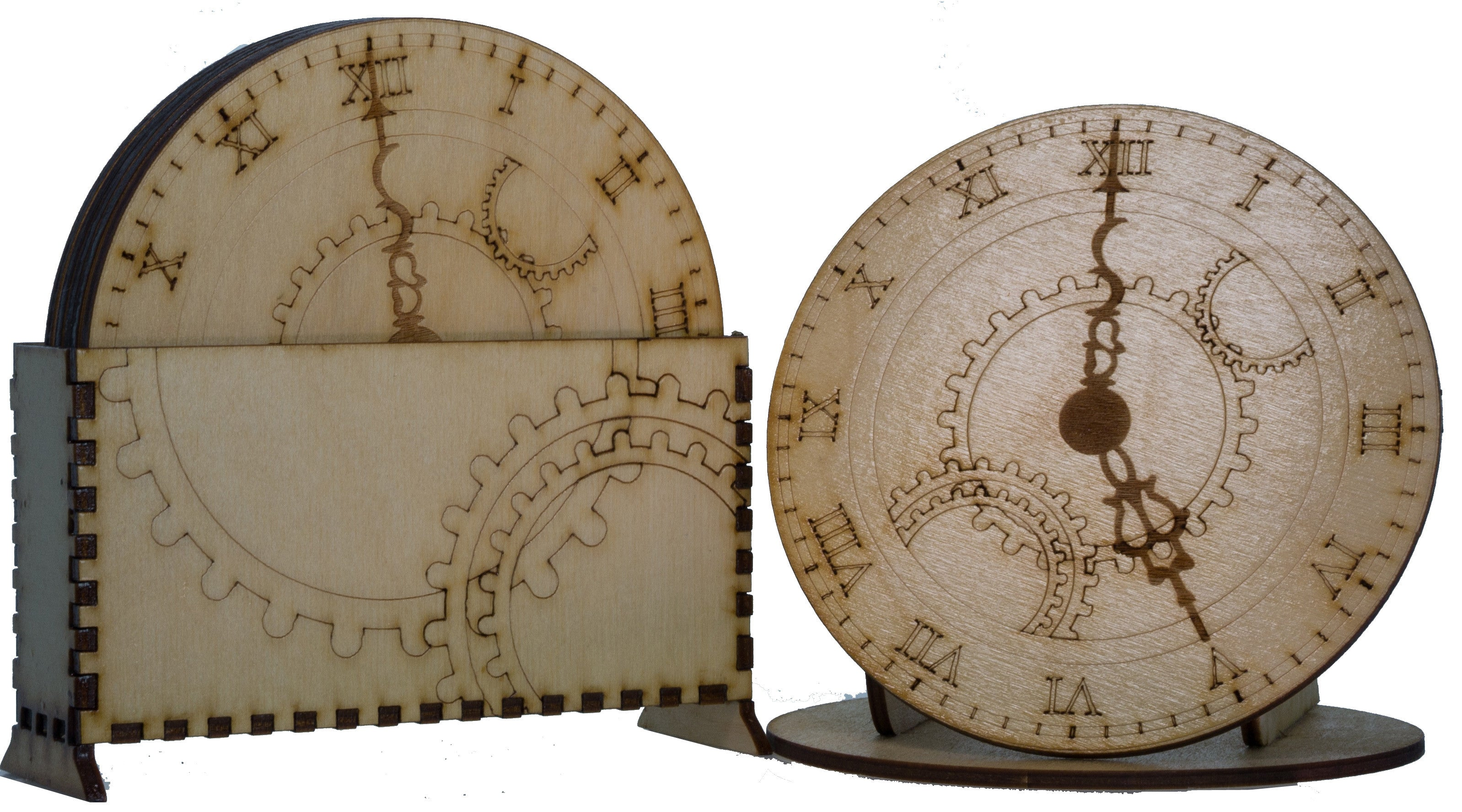 5 O'Clock Gears Coaster Set