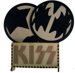 KISS Mask Coasters