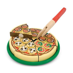 Melissa & Doug • Wooden Play Food • Pizza Party !