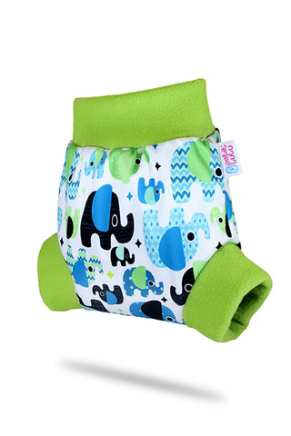 Petit Lulu - Couvre-couche Pull-Up - Baby Elephant