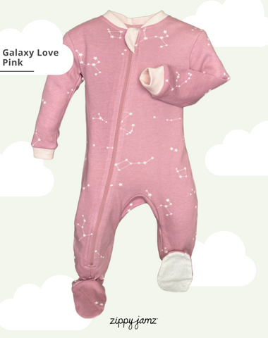 Zippyjamz • Pyjama • Galaxy Love • Pink
