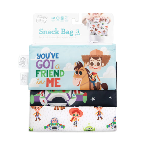 BUMKINS - DISNEY - Sacs à collation (3) - TOY STORY