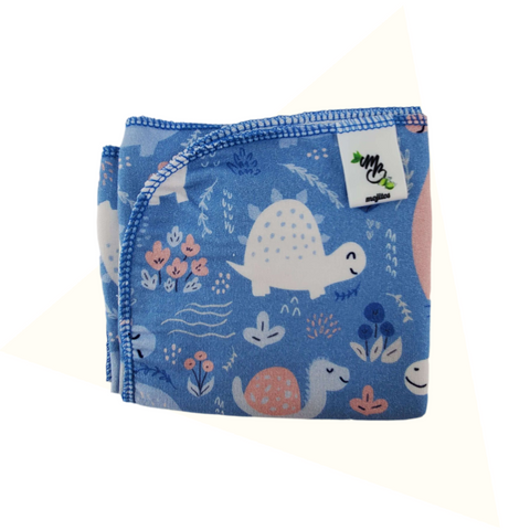 MojitosBaby • Couche plate Mojitos • taille NOUVEAU-NÉ • Heureux dinos