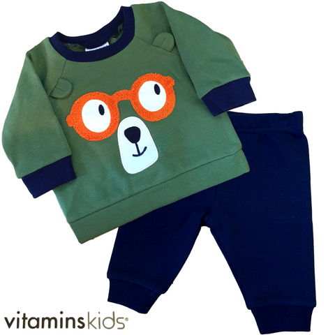 Vitamins Kids • Ensemble 2 pièces • Ourson