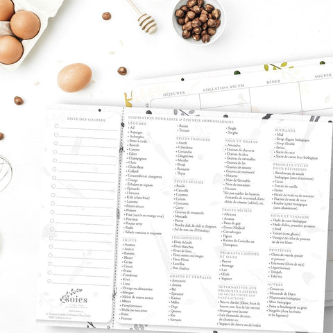 Soies • Planificateur de menu
