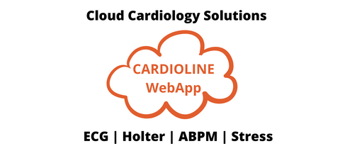 Cardioline WebAPP ECG Management - In the cloud