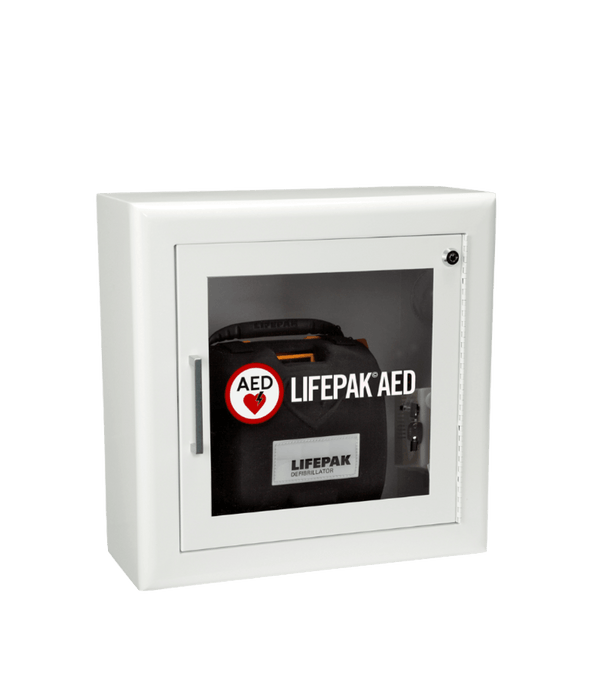 LIFEPAK AED Wall Cabinet with Alarm