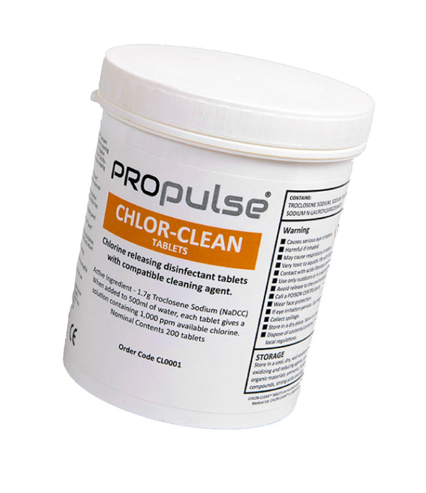 Ear Irrigator - ProPulse Cleaning Tablets - 200 / Pack