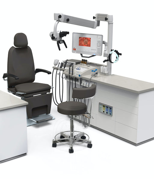 ENT Workstation - Atmos Medical S61 Servant Corian With IView ENT Workstation