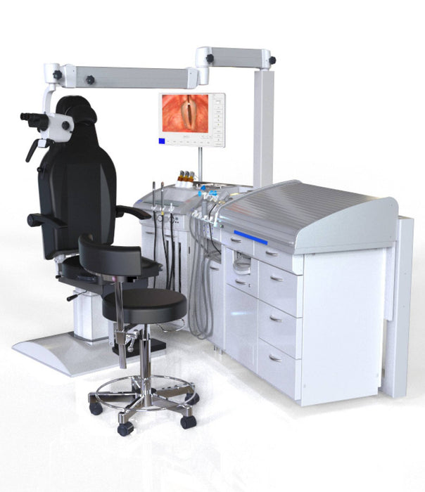 ENT Workstation - Atmos Medical S61 Servant Workflow With IView ENT Workstation