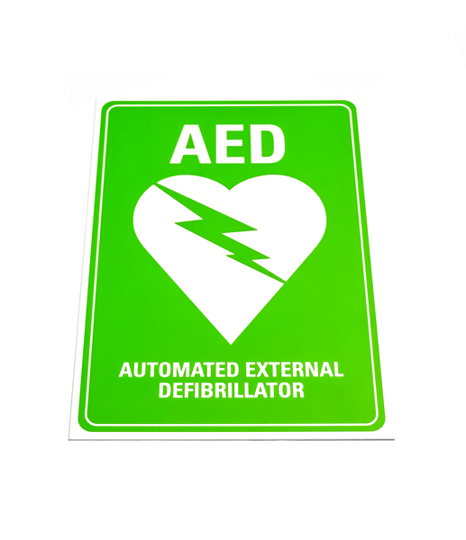 Lifepak Accessories - Lifepak AED Sign