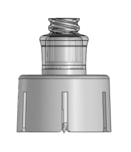 Needle Free Valve - FlowArt Valve For Vial Access 20mm
