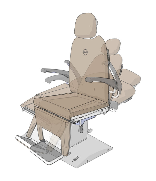 Patient Chair - Atmos Professional Basic Electric ENT Patient Chair