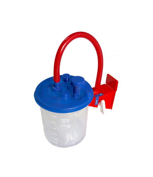 Surgical Suction - MediVac 1000ml Flex Reusable Suction Canister With On/Off Switch