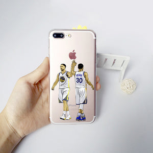 NBA Phone Case James Curry Harden and Kyrie Irving for iphone 5s 7 6s se 6splus 7plus